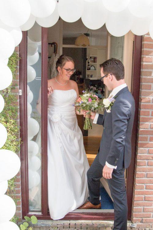 Bruiloftsreportage fotograaf: Trouwen in Eksternest Almere